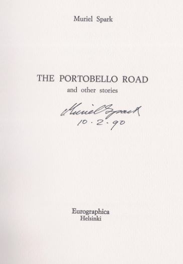 Spark, Muriel. The Portobello Road and other stories.