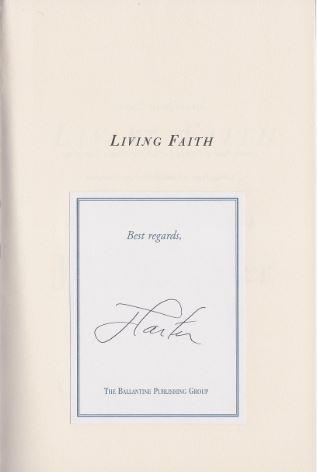 Carter, Jimmy. Living Faith.