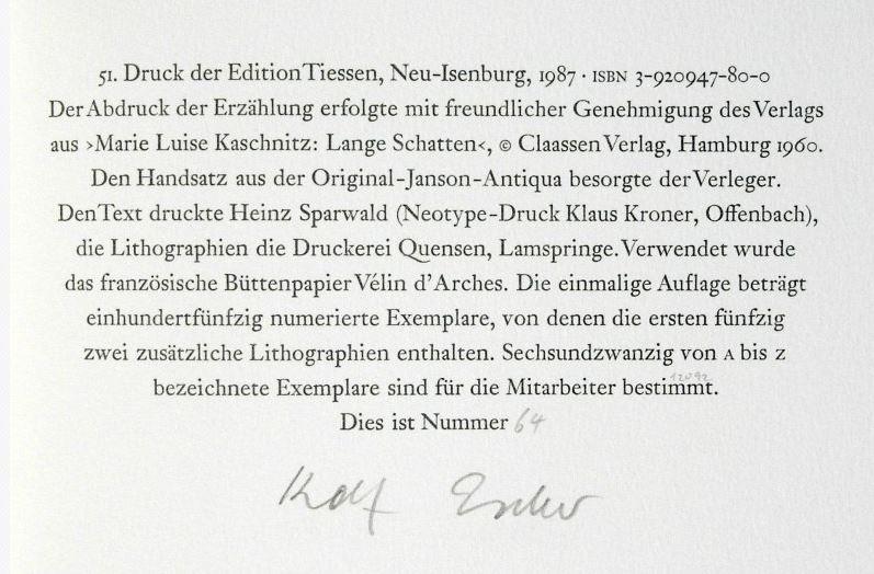 Kaschnitz, Marie Luise. Das ewige Licht.