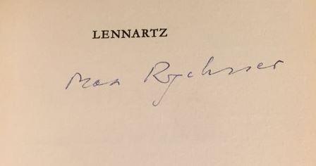 Rychner, Max. Lennartz.