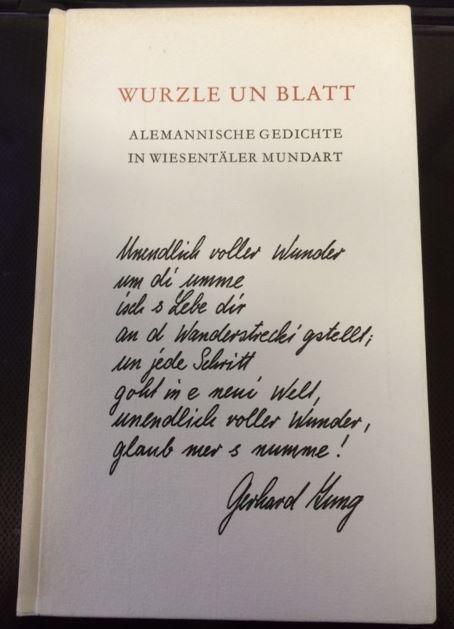 Jung, Gerhard. Wurzle und Blatt.