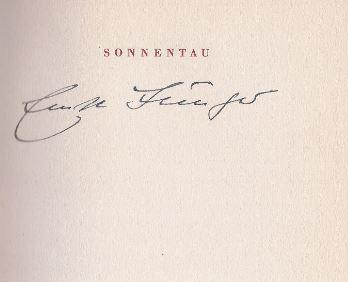 Jünger, Ernst. Sonnentau.