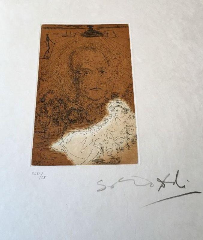 Dalí, Salvador. Hommage A Konrad Adenauer. 0