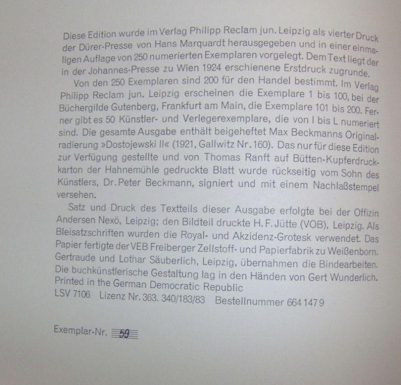 Beckmann, Max. Ebbi.