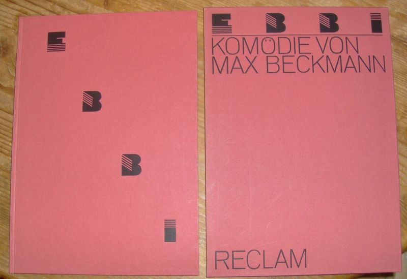 Beckmann, Max. Ebbi. 3