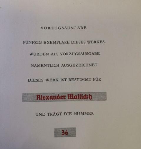 Fühmann, Franz. Stürzende Schatten.