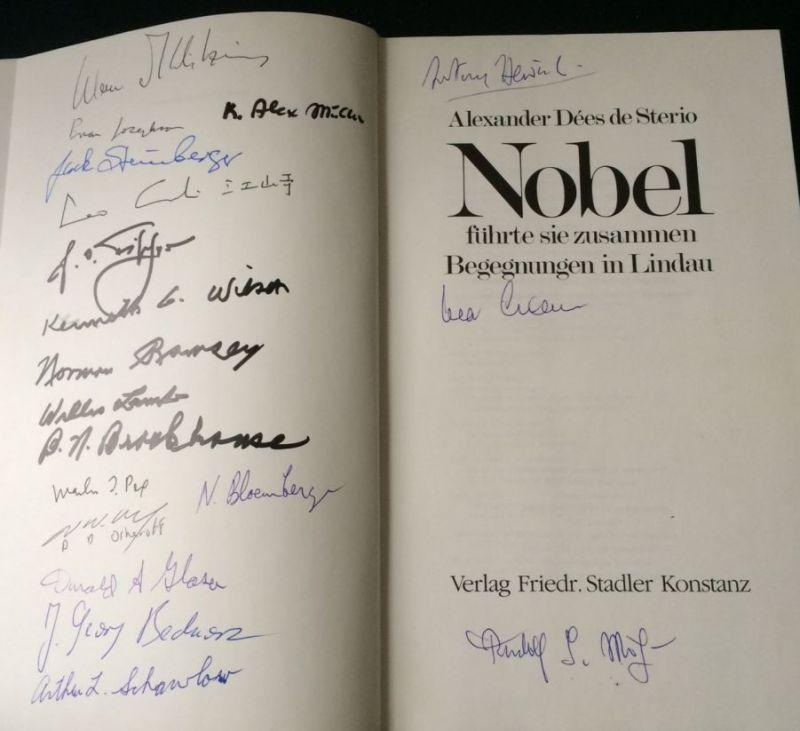 Dées de Sterio, Alexander. Nobel führte sie zusammen.
