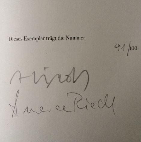 Riedl, Alois und Annerose (Illustrtionen) Riedl. Gegenstriche.