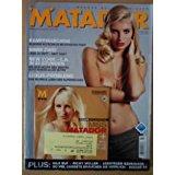 Div Autoren MATADOR- Erotik-Magazin - MATADOR 3 - 2008 Lysann + DVD ** Jaguar XF Wladimir Klitschko Porsche Spyder 550