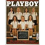 Diverse Autoren Playboy Magazin, Alles Was Männern Spaß macht **Mai 2002 ** Die Sieben Hübschesten Abiturientinnen Deutschlands