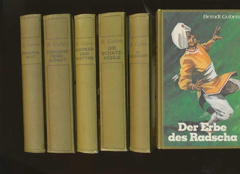 Guben, Berndt: Der Pfeifer. - Band 1: El Silbador / Band 2: Kerker und Ketten / Band 3: Das Erbe des Radscha / Band 4: Piratenblut / Band 5: Die Schatzhöhle / Band 6: Tödliche Feindschaft.