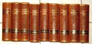 Herders Konversations-Lexikon. - Prachtausgabe in 8 Bänden + 1 Ergänzungs-Band (9 Bände KOMPLETT)