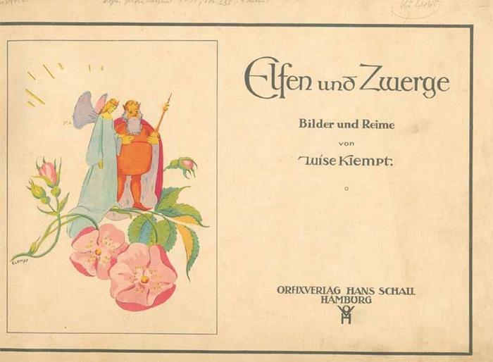 Klempt, Luise: Elfen und Zwerge. Bilder und Reime.
