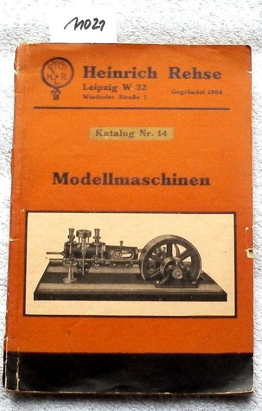 Modellmaschinen Katalog Nr. 14.