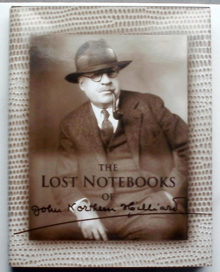"""Hilliard, John Northern: The lost notebooks of John Northern HILLIARD. - (Author of """"The art of Magic"""" 1909, """"Greater Magic"""" 1938 etc) - Reproduced in Facsimile."""