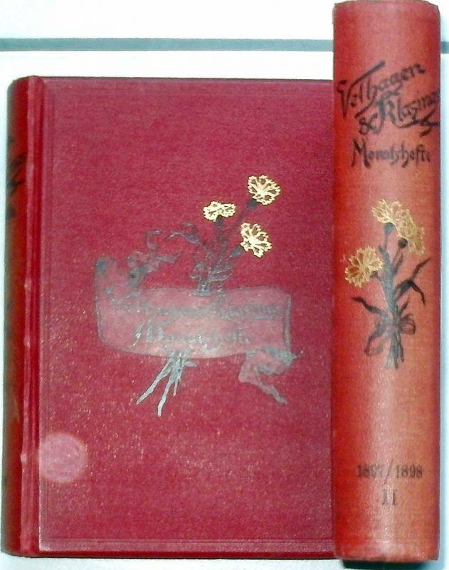 Velhagen und Klasings Monatshefte: - Jahrgang XII. Band I und II. 1897/1898.