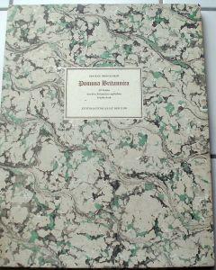 Brookshaw, George: Pomona Brittanica. - 20 Tafeln in Auswahl. - Begleittext von Werner Becker zur Faksimile-Ausgabe. Mit Titelblatt, Einleitung und Früchtebeschreibungen nach dem engl. Original.