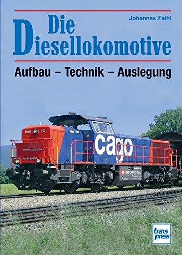 Feihl, Johannes: Die Diesel-Lokomotive : Aufbau, Technik und Auslegung.