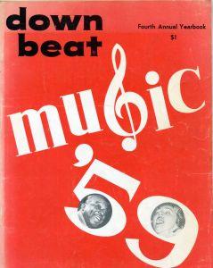 """Down Beat Fourth Annual Year Book """"Music `59"""""""