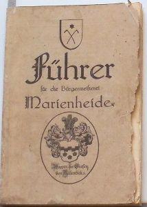 Berges, W.: Führer für die Bürgermeisterei Marienheide.