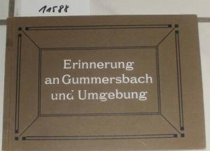 Erinnerung an Gummersbach und Umgebung.