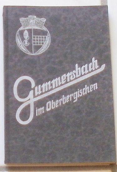 Verkehrsverein Gummersbach, (Hrg.): Lindenstadt Gummersbach im Oberbergischen. - Regierungsbezirk Köln.