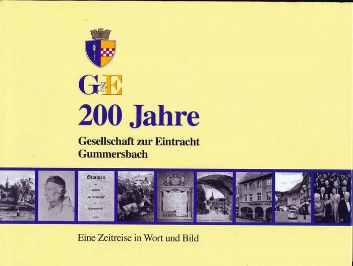 Böseke, Harry (Hrg.) und Gerhard (Mitwirkender) Pomykaj: 200 Jahre Gesellschaft zur Eintracht Gummersbach : eine Zeitreise in Wort und Bild. Red.: Harry Böseke und Gerhard Pomykaj