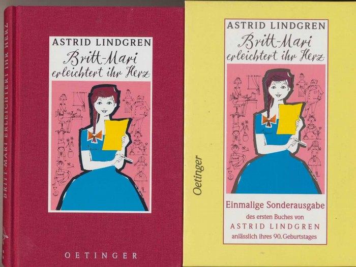 Lindgren, Astrid: Britt-Mari erleichtert ihr Herz. - Einmalige Sonderausg. des ersten Buches von Astrid Lindgren anläßlich ihres 90. Geburtstages - Übers. von Anna-Liese Kornitzky.
