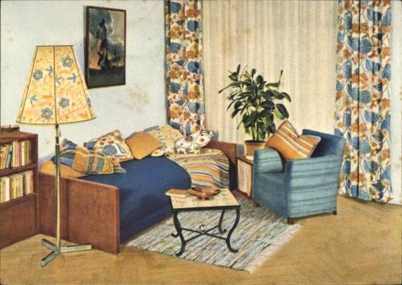 werbung reklame aschaffenburg m bel schwind wohnung gardinen werbeheft 1962 nr 382084002729. Black Bedroom Furniture Sets. Home Design Ideas