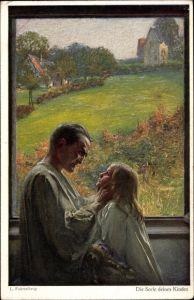 Künstler Ak Fahrenkrog, Ludwig, Die Seele deines Kindes