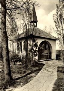 Ak Waltrup Altenberge, Kriegergedächtniskapelle und Madonna der Landstraße