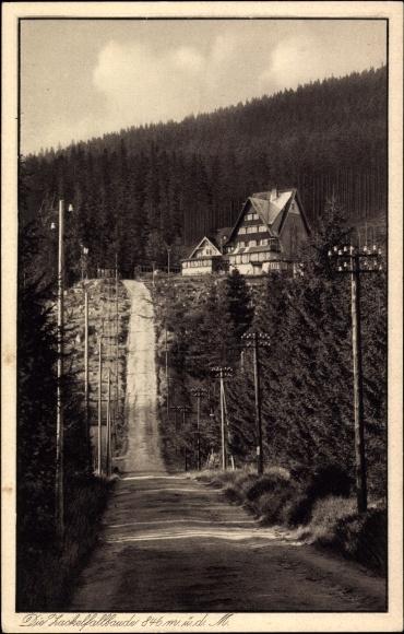 Ak Zackelfallbaude, Schronisko Kamieńczyk, Riesengebirge