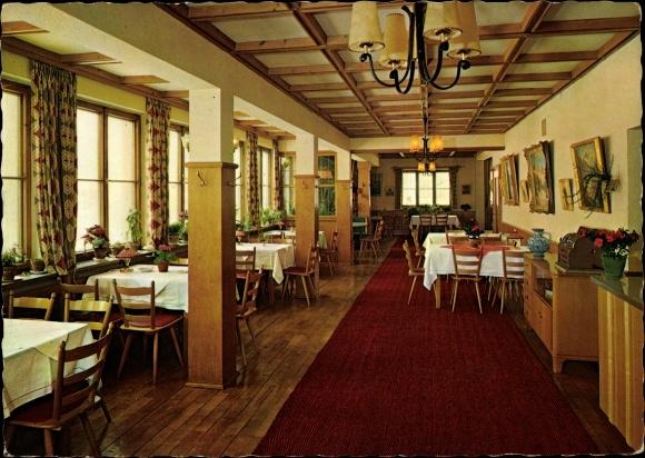 Ak Maria Rain Oy Mittelberg im Allgäu, Café Sonnenhof, Loni Sturmfels
