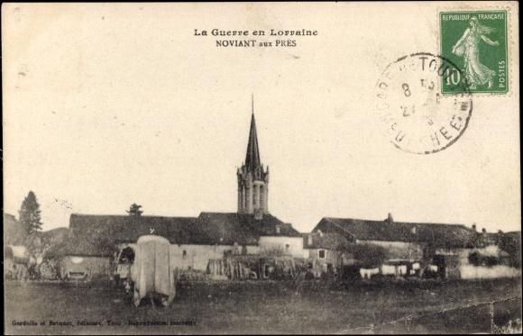 Ak Noviant aux Pres Meurthe et Moselle, La Guerre en Lorraine
