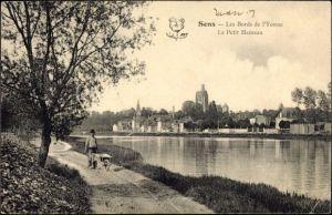 Ak Sens Yonne, Les Bords de l'Yonne, Le Petit Hameau