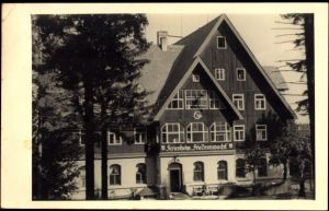 Ak Bärenburg Altenberg im Erzgebirge, FDGB Ferienheim Friedenswacht