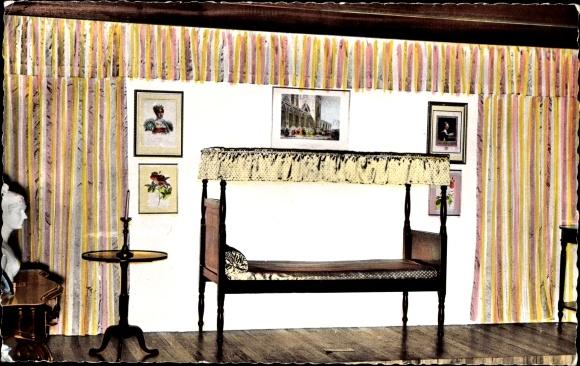 Ak Martinique, Trois Ilets, La Pagerie, Empress Josephine's crib