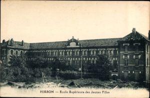 Ak Hirson Aisne, Ecole Supérieure des Jeunes Filles, Schule für Mädchen