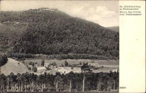 Ak Obernai Oberehnheim Elsaß Bas Rhin, Sankt Odilienberg, Niedermünster
