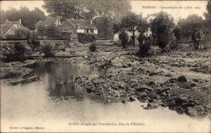 Ak Mamers Sarthe, Catastrophe du 7 Juin 1904, Sturm