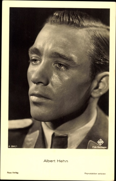 Ak Schauspieler Albert Hehn, Portrait, UFA Film, Ross A 3241 1