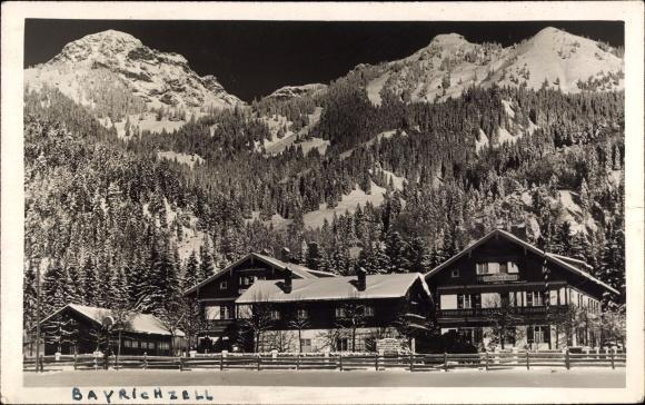 Ak Bayrischzell im Mangfallgebirge Oberbayern, Hotel Deutsches Haus