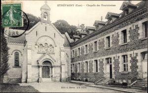 Ak Etrépagny Eure, Chapelle des Dominicaines, Dominikanerkirche