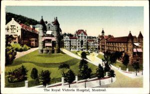 Ak Montreal Québec Kanada, The Royal Victoria Hospital, Krankenhaus