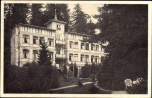 Ak Friedrichroda im Thüringer Wald, Thüringer Wald Heim, Nebenhaus