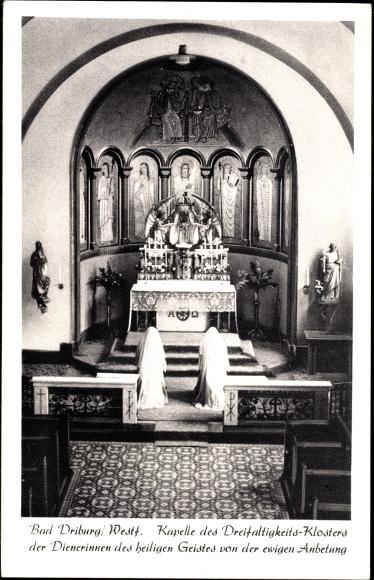Ak Bad Driburg im Kreis Höxter, Kapelle des Dreifaltigkeits Klosters