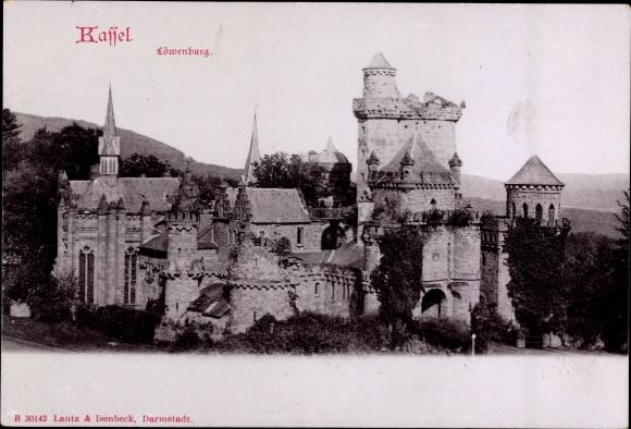 Ak Kassel in Hessen, Außenansicht der Löwenburg
