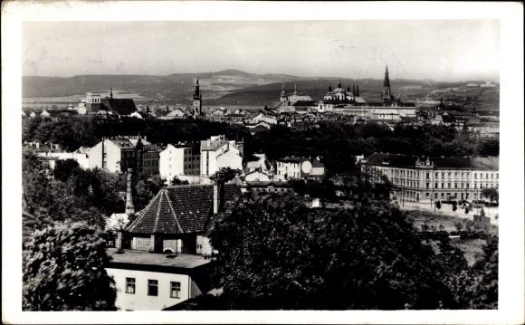 Ak Olomouc Olmütz Stadt, Celkovy pohled, Gesamtansicht, Gebäude