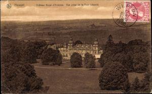 Ak Houyet Wallonien Namur, Château Royal d'Ardenne, Vue prise de la Tour Léopold