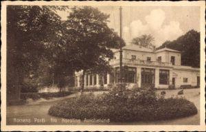 Ak Horsens Dänemark, Parti fra Karoline Amalielund, Villa